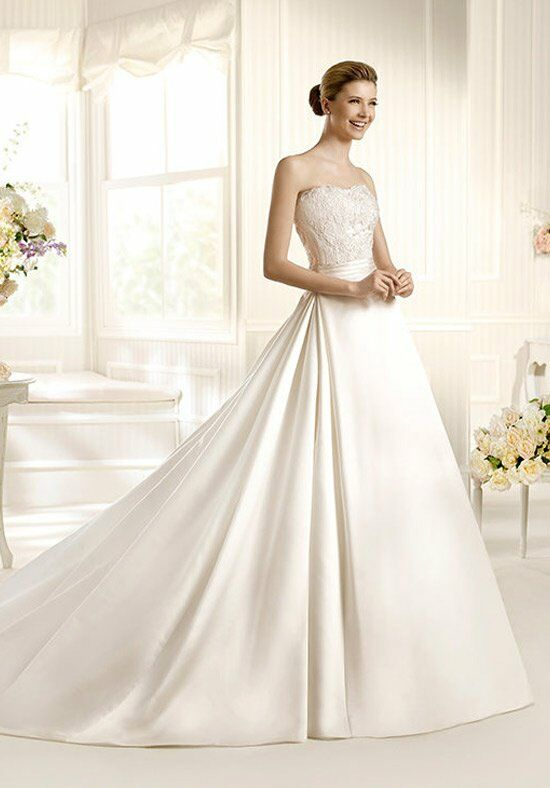 La sposa manso wedding dress the knot for Wedding registry the knot