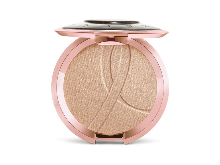 Becca Shimmering Skin Perfector pressed highlighter for breast cancer awareness