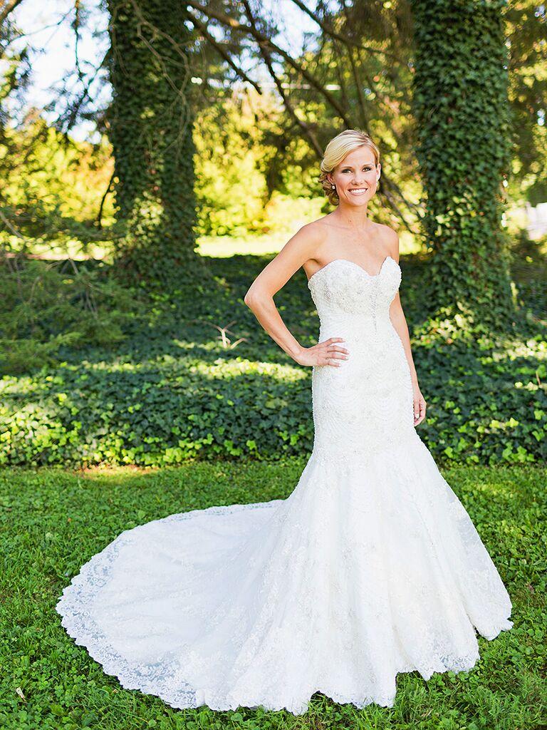 Mermaid Wedding Dresses With A Sweetheart Neckline