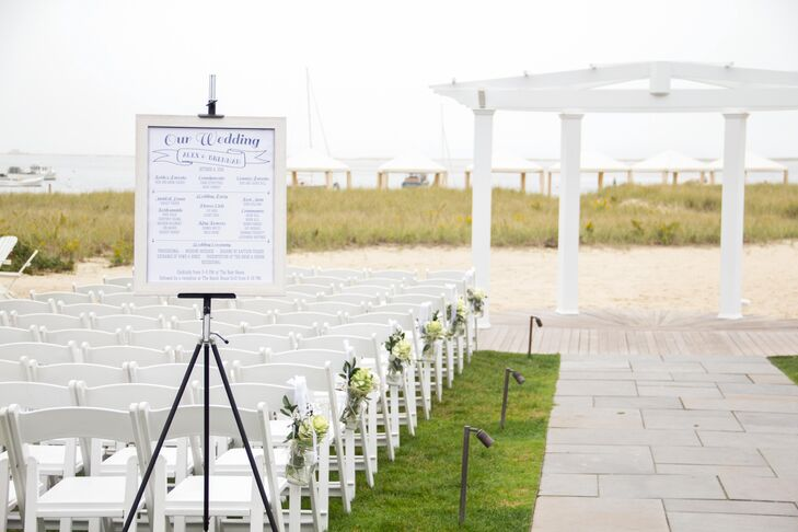 Waterfront Wedding Ceremony at the Chatham Bars Inn