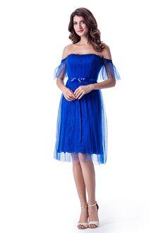 Venus Bridesmaids BM2239 Off the Shoulder Bridesmaid Dress