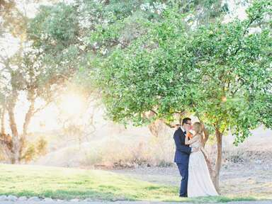 This Is Literally The Most Picture Perfect California Garden Wedding You'll Ever See (Video)