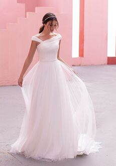 WHITE ONE AROMA Ball Gown Wedding Dress