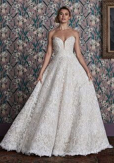 Justin Alexander Signature Anita Ball Gown Wedding Dress