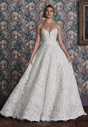Justin Alexander Signature Anita Ball Gown Wedding Dress