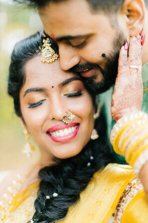 Indian Wedding Portraits in Concord, New Hampshire