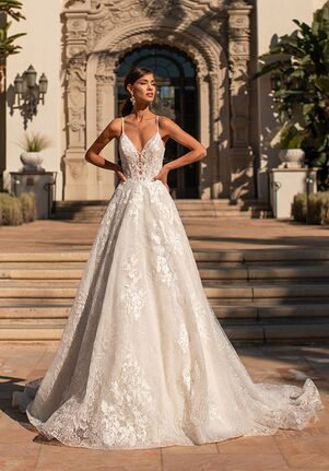 Moonlight Couture H1451 A-Line Wedding Dress
