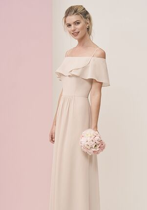 JASMINE P196056 Off the Shoulder Bridesmaid Dress