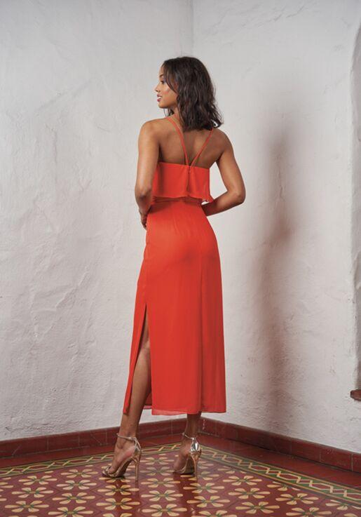 JASMINE P216052 V-Neck Bridesmaid Dress