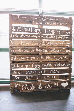 DIY, Rustic Wooden Wedding Sign