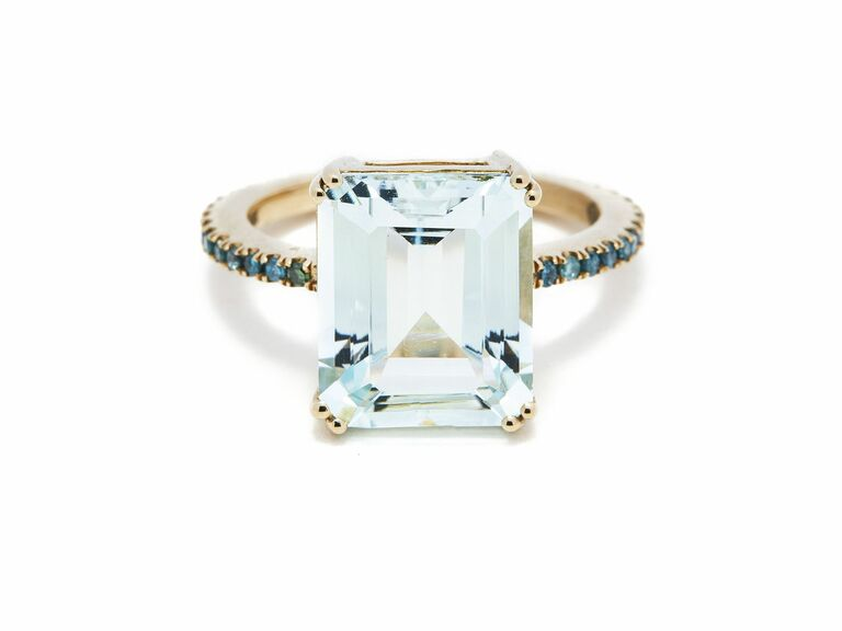 Yi Collection blue engagement ring