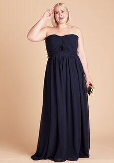 Birdy Grey Grace Convertible Dress Curve in Navy Sweetheart Bridesmaid Dress