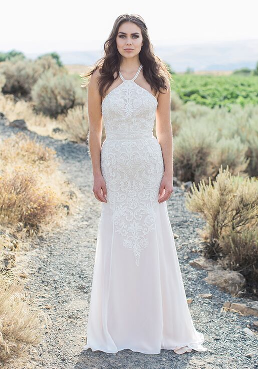 Desiree Hartsock Adalie Sheath Wedding Dress